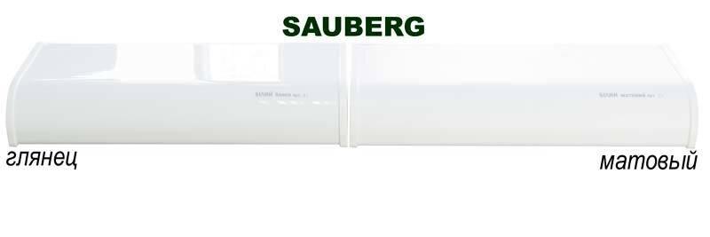 Порівняння підвіконня Сауберг білий глянець та матовий