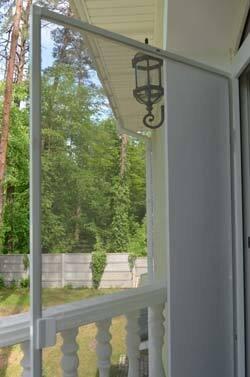 Дверная москитная сетка, белая