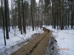 Аренда землеройной машины - Устройство траншей в Киеве - фото 2