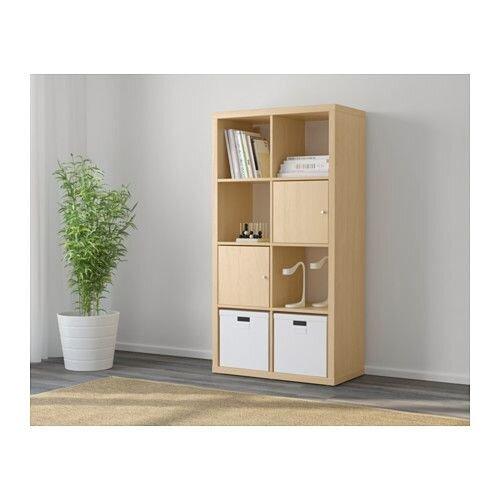 """ИКЕА """"КАЛЛАКС"""" Стеллаж, береза - фото KALLAX IKEA 502.784.82 ikea-boom.com.ua"""