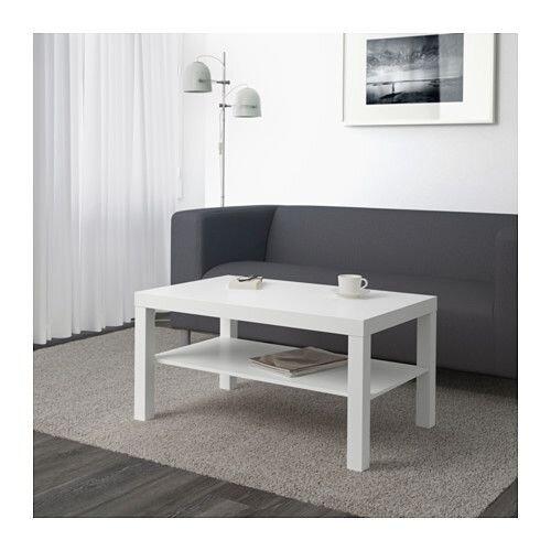 ЛАКК Журнальный стол, белый - фото 1