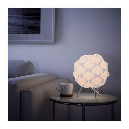 """IKEA """"ФИЛЬСТА"""" Лампа настольная, белый - фото FILLSTA Lampa stołowa, biały 39,99 PLN A++ Karta Produktu Numer artykułu: 201.544.16"""
