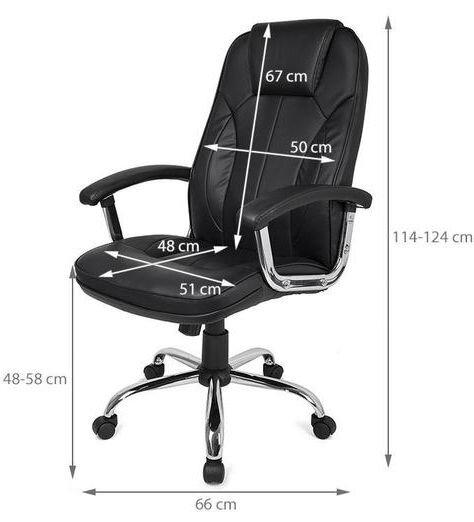 Офисное кресло HomeKraft Deluxe, кресло компьютерное - фото pic_5e9023f4702c92d_1920x9000_1.jpg