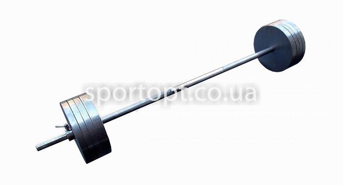 Наборная металлическая штанга 110 кг (108 кг) - фото 3