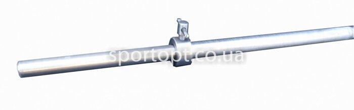 Металлический прямой гриф для штанги 150 см (25 мм) - фото 2