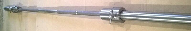 Олимпийский гриф для штанги 2,2 м прямой с замками (олімпійський стальний прямий) - фото pic_3f2aacf9877c571_1920x9000_1.jpg