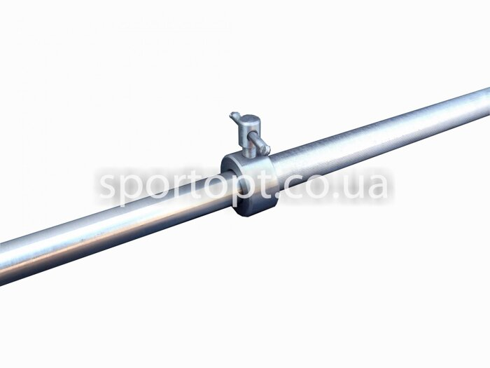 Металлический прямой гриф для штанги 150 см (25 мм) (металевий прямий стальной) - фото 3