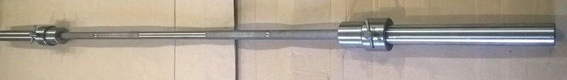 Олимпийский гриф для штанги 2,2 м прямой с замками (олімпійський стальний прямий) - фото pic_240ebeed1ce6688_1920x9000_1.jpg