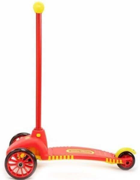 Детский трехколесный самокат Little Tikes 640094 с поворотными колесами - фото pic_0b0f2d0ce7ea4a2_700x3000_1.jpg