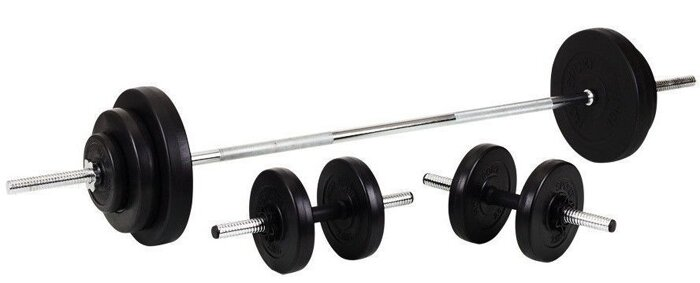 Гантели 2*26 кг + Штанга 80 кг (Комплект) - фото 2