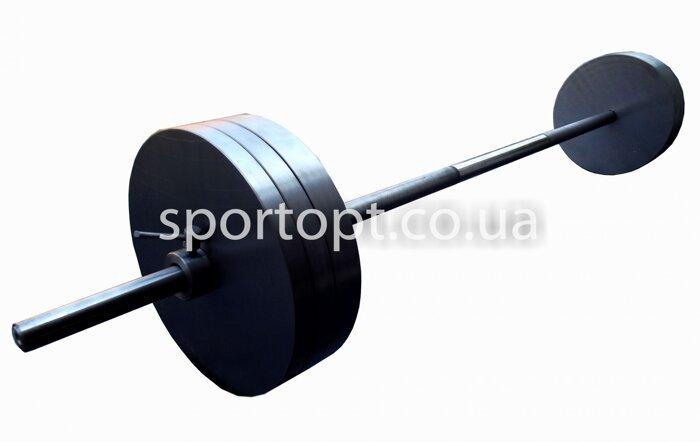 Наборная металлическая штанга 50 кг (48 кг) - фото 3