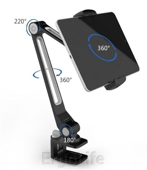 Держатель для планшета или смартфона на зажиме LD 205B - фото pic_0dee91635050f35_1920x9000_1.jpg