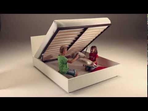 Механизм подъема кроватной сетки с матрасом TipUp - фото 2
