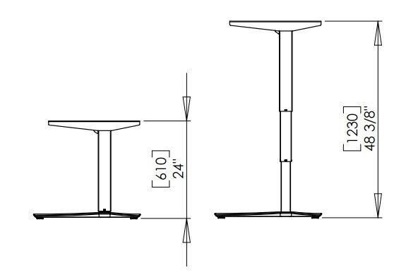 Стол с электрической регулировкой высоты 501-43-7S (B, W)- 172-172А - фото pic_e5db87c748f462d_700x3000_1.jpg