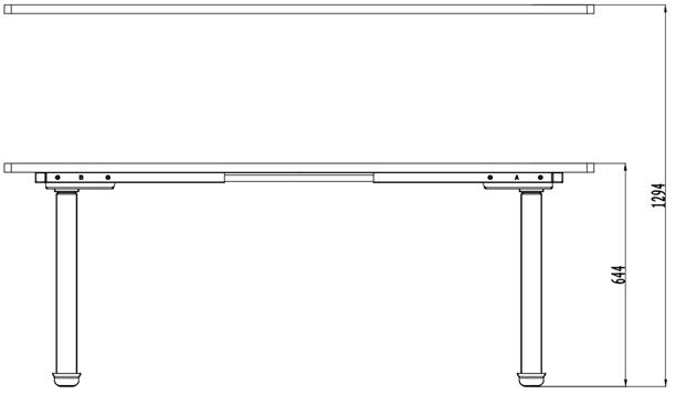 Стол с регулировкой высоты с круглыми опорами Kaidi RO650 - фото pic_79b6f0be48c1a3852f911a55cc10d10f_1920x9000_1.png