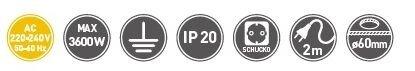 Настольный удлинитель выдвижной AE-BPW3GS, круглый - фото pic_d9f709500b4805a_700x3000_1.jpg