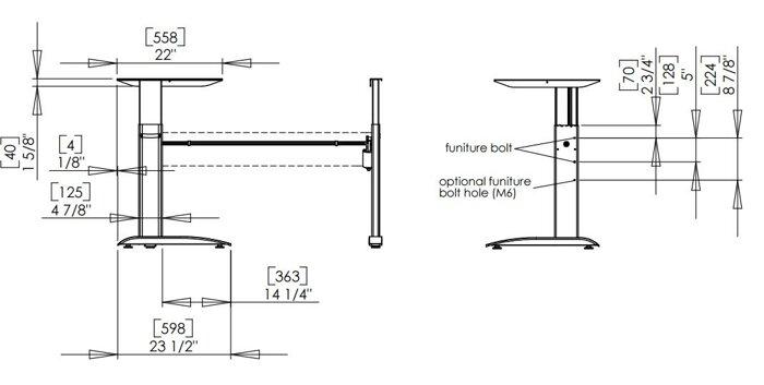 Угловой стол с регулировкой высоты 501-15 7 S (W) - фото pic_b9653398c9e58ce_700x3000_1.jpg