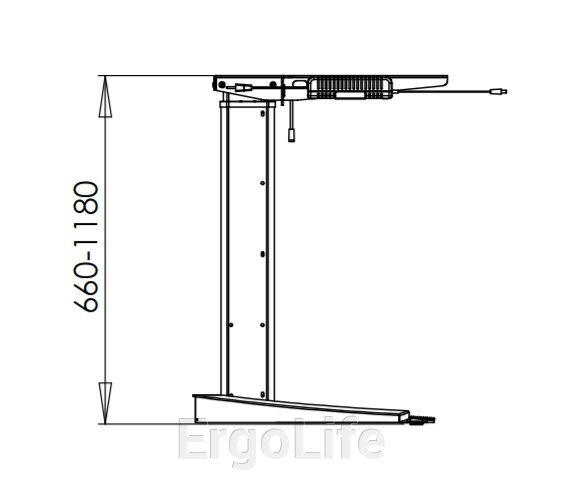 Стол с регулировкой высоты 501-19S (B)120 - фото pic_181a4ec01a701fa_700x3000_1.jpg