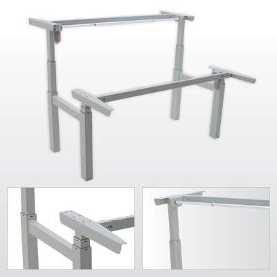 Сдвоенный стол с регулировкой высоты 501-88 7S (W, B)152 - фото pic_7a2c47157d554c7_700x3000_1.jpg
