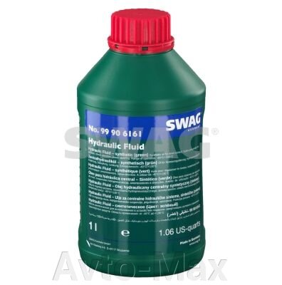 Гидравлическое масло синтетическое зеленое Swag 1L - фото pic_fb7e32b450d1075_1920x9000_1.jpg