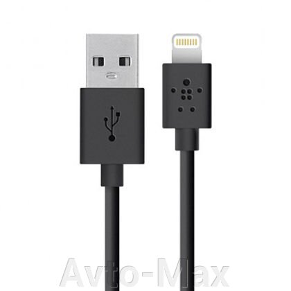 Кабель USB Belkin Apple (Lightning) 1.2м Black - фото pic_6cc5bbeab7031df_700x3000_1.jpg