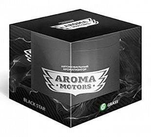 Ароматизатор гелевый Grass Aroma Motors BLACK STAR 100ml - фото pic_cd47f094a9c9c12_1920x9000_1.jpg