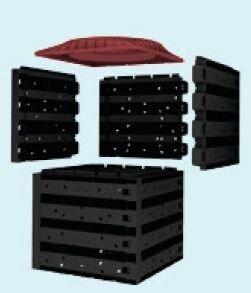 Распределительный колодец VARIO flex 800 легкий монтаж