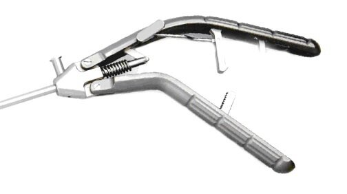 Лапароскопический иглодержатель с титановой V-образной ручкой и прямым наконечником, 5х330 мм - фото pic_a905802919cdacd7c74542c50e8725b9_1920x9000_1.jpg