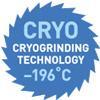 Знак CRYO Cryogrinding Technology —196C