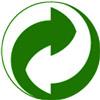 Знак DER GRÜNE PUNKT (Зеленая точка)