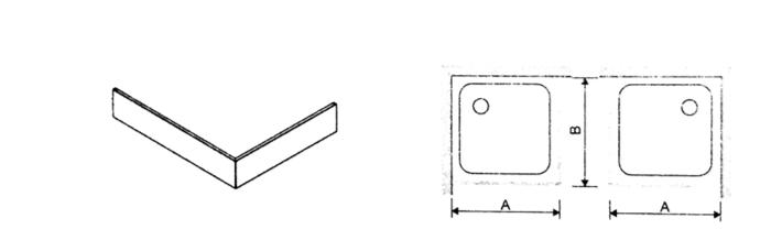 Душевой поддон квадратный или прямоугольный Bza/PR - фото pic_100773bf12792ec_700x3000_1.png