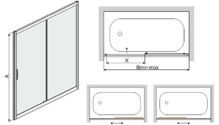 Перегородка душевая SANPLAST D2-W/TX5b - фото pic_5bb564be3f95921_700x3000_1.jpg