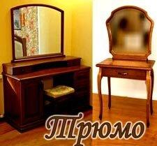 """Туалетный стол - трюмо """"Маркиз 3"""" - фото Туалетные столики - трюмо"""