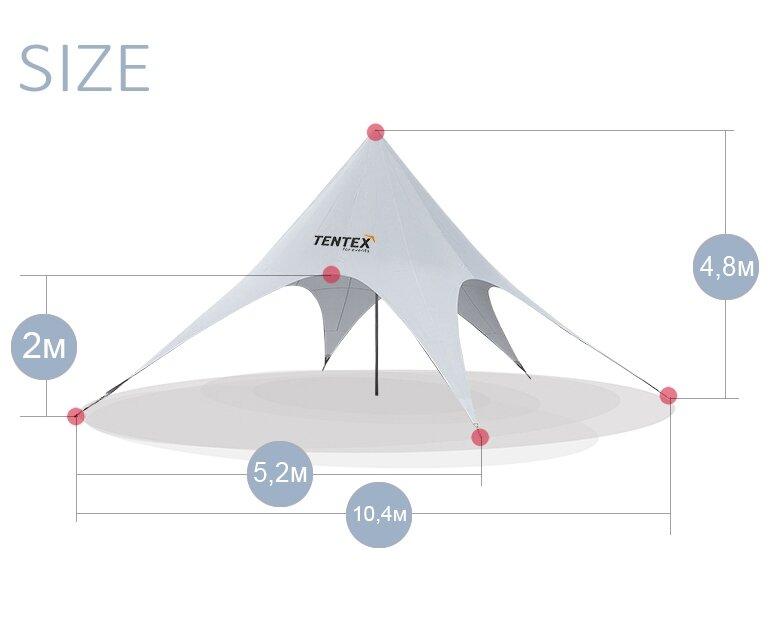 Палатка на прокат Звезда - цвет голубой - под ключ - фото pic_a19291c0486397456a9a667a19c65372_1920x9000_1.jpg