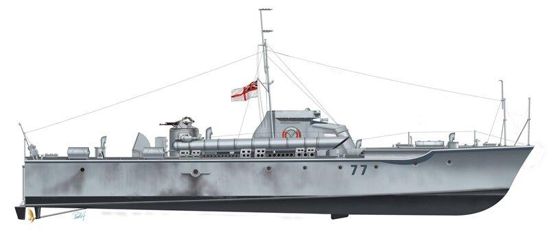"""VOSPER 72""""6"""" MTB 77. Сборная модель торпедного катера в масштабе 1/35. ITALERI 5610 - фото pic_d705b0b1c7c4b30b0b1b490c941f323e_1920x9000_1.jpg"""