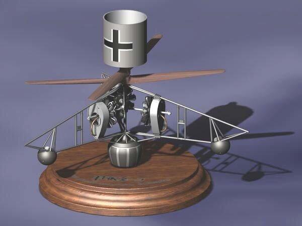 1/72 RODEN 008 - PKZ-2, первый в мире вертолет. Сборная модель в масштабе 1/72. - фото pic_dee434361f454938b0afca308a394f0c_1920x9000_1.jpg