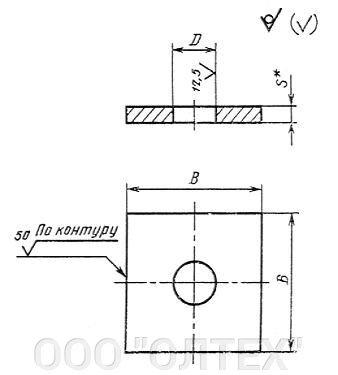 Анкерные стальные плиты - фото Плита анкерная