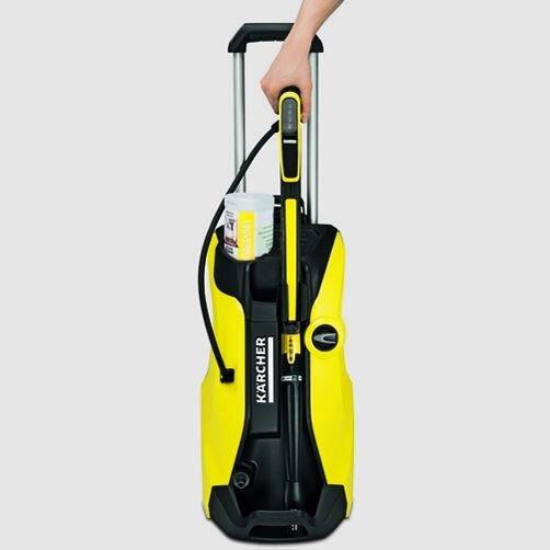 Мини-мойка K 7 Premium Full Control: Парковочное положение для легкого хранения принадлежностей в любое время