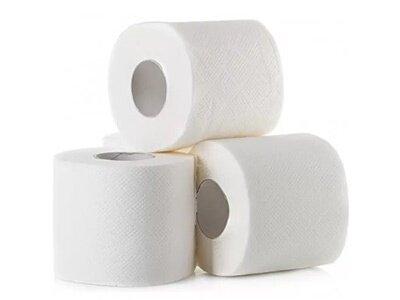 Туалетний папір в побутовому рулоні
