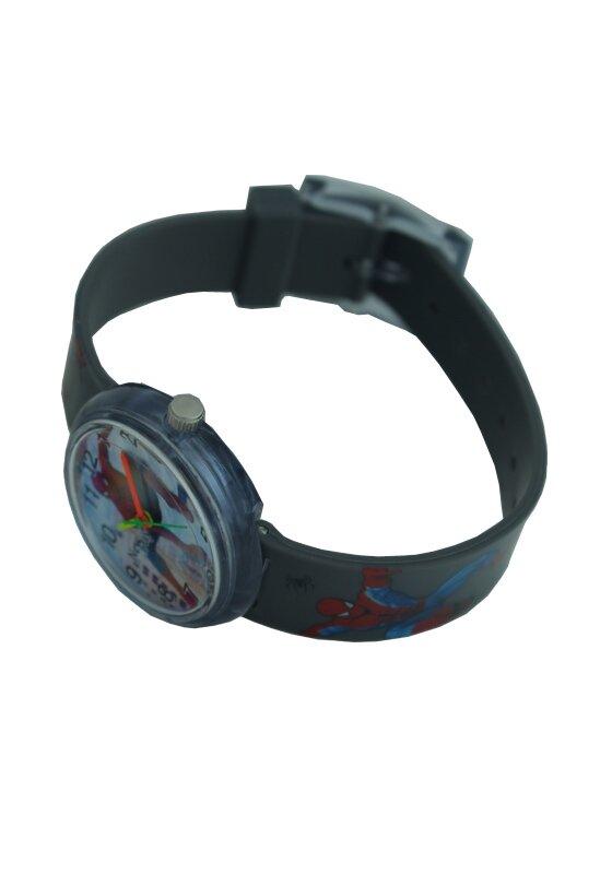 Детские наручные часы для мальчика Человек паук  серый Spiderman - фото pic_c542fd8e8f99a23b1348a83e3c1eb9e5_1920x9000_1.jpg