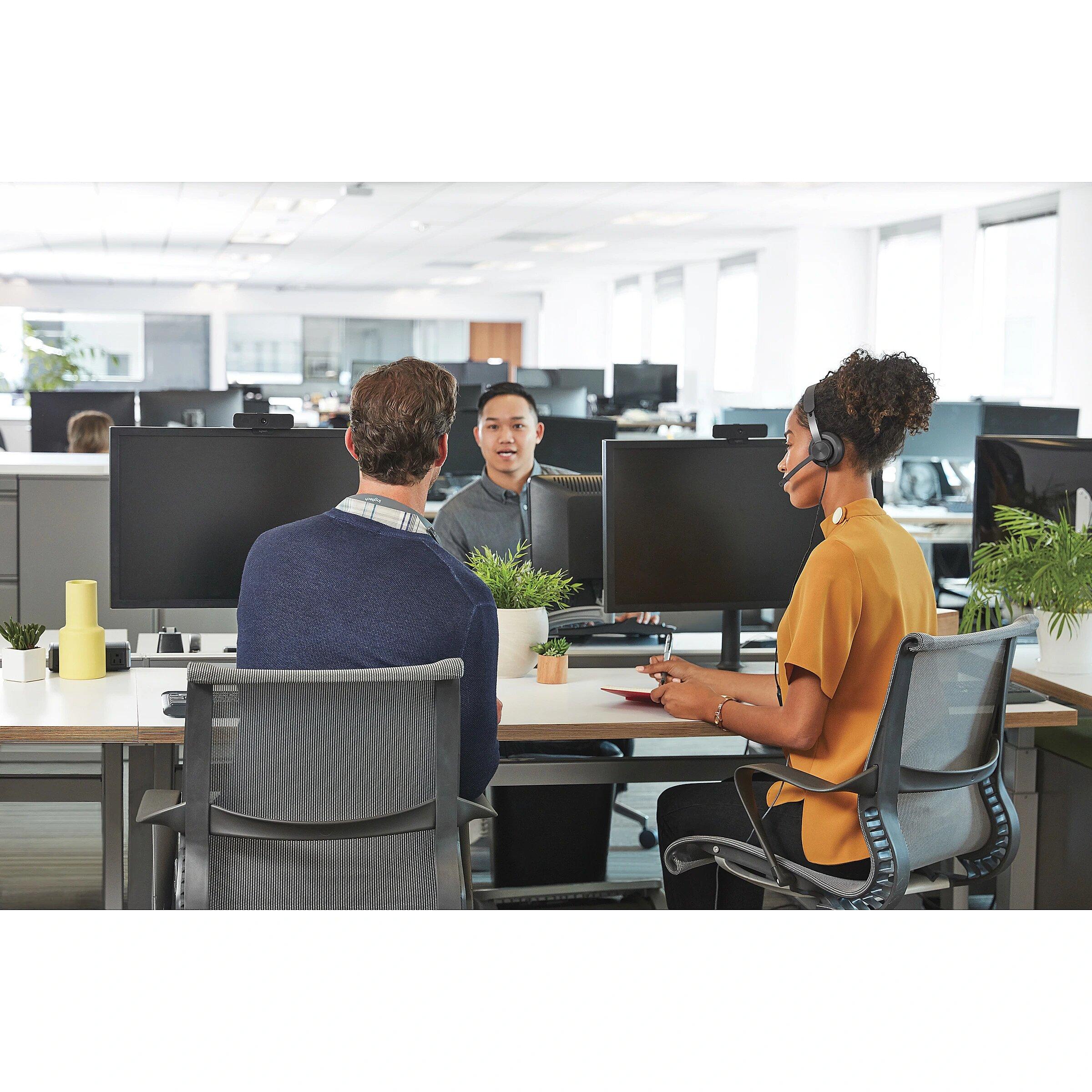 Logitech WIRED PERSONAL VC UC KIT GRAPHITE USB PLUGA EMEA UC (991-000339)