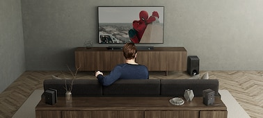 Изображение 3.1-канальный саундбар с поддержкой Dolby Atmos®/ DTS:X™ и технологией Wi-Fi/ Bluetooth®   HT-ZF9