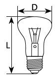 """Лампа 25 Вт Е27 (""""Искра"""", Львов). Ящик 154 шт - фото 1"""