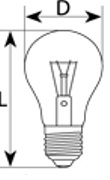 Лампа МО 24 вольта 60 Вт - фото 1