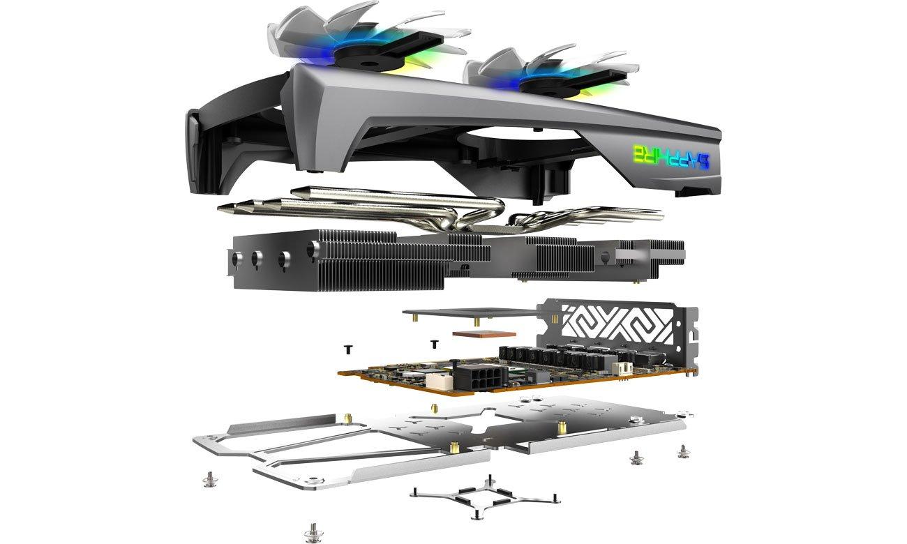 Sapphire Radeon RX 5500 XT NITRO + - охолодження