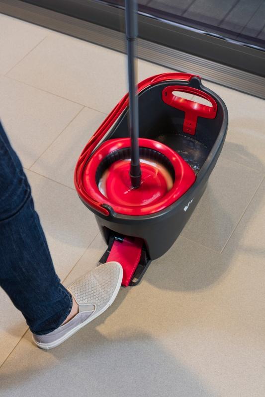 Набір для прибирання Vileda Mop Easy Wring and Clean Turbo - фото 8