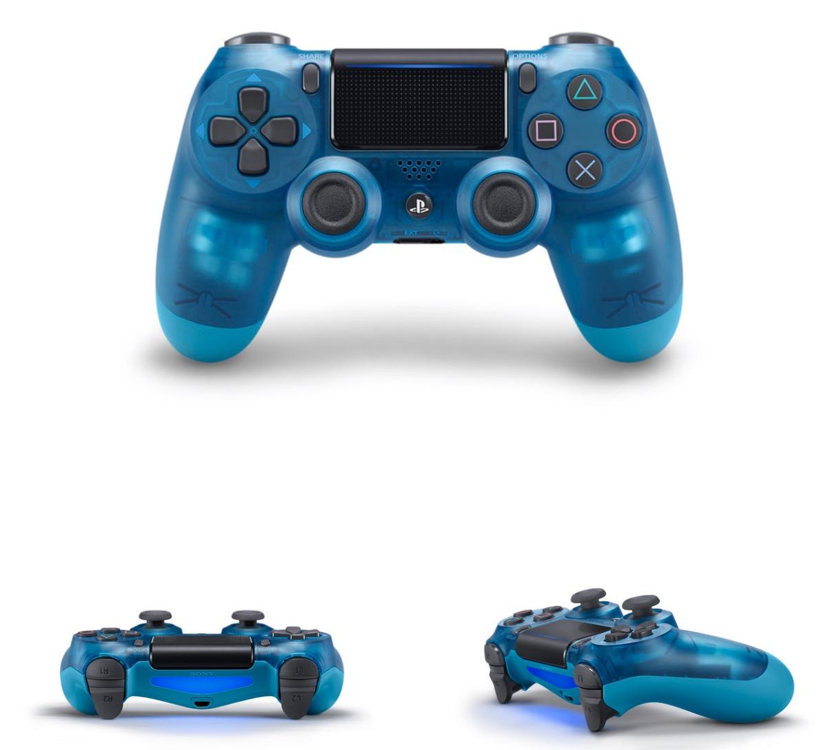 Картинки по запросу Sony DualShock 4 (Crystal) Blue