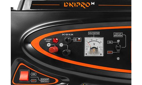 Генератор бензиновый Dnipro-M GX-30 (3.2 кВт) - фото Характеристика товара «Особенности модели» - фото №2