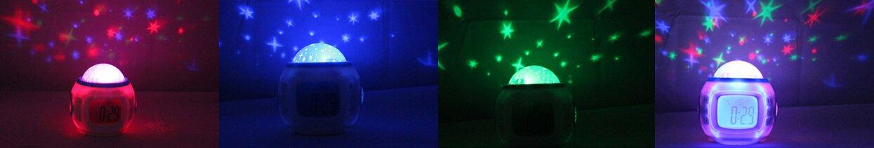 Часы – музыкальный проектор звездного неба - фото 1