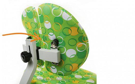 Кресло для школьника Mealux Duo Kid, с кольцами, 4 цвета - фото detskoje_kreslo_mealux_duokid_spinka.jpg